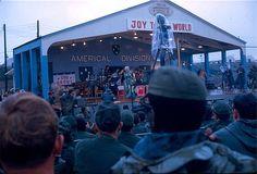 Bob Hope Show Chu Lai, Vietnam 1969. Connie Stevens ... Vietnam 1969 -1970 Alpha Company 1/46th 196th LIB Americal Division ... Bob Hope Show ... Chu Lai Vietnam 1969.   Flickr.com - Gaylen Blosser