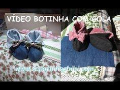 http://sapatinhosbibi.com Explicação simples da montagem da Botinha com Golinha. ATENÇÃO NÃO COLOQUE MANTA...Essa botinha é extruturada com Jeans ou outro te...