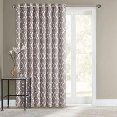 SONOMA Goods for Life™ Fret Patio Door Curtain - 100\u0027\u0027 ... & Image result for sliding door curtains | Decorating | Pinterest ...