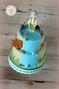 Fishy Fish! - Cake by Sugarpatch Cakes