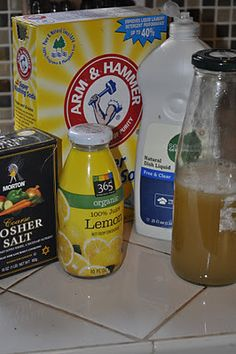 Lavinas Healthy Home: Homemade Dishwasher Detergent Without Borax and Citric Acid