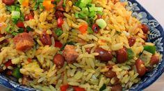Arroz Mamposteao - Que Rica Vida Rice Recipes, Mexican Food Recipes, Cooking Recipes, Healthy Recipes, Couscous Recipes, Recipies, Puerto Rican Cuisine, Puerto Rican Recipes, Side Dishes