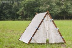 Collapsible Fabric Play Tent...for kids! | Make It and Love It