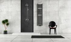 Grzejnik łazienkowy dekoracyjny ELBA Nowość Grzejnik ELBA to kontynuacja nowej wersji grzejnika łazienkowego ŁEZKA który charakteryzuje prostototą poziomego układu profilu Elipsy a jednocześnie wkomponuje się w bardzo nowoczesne wnętrze każdej łazienki. Różne wymiary, modele oraz kolory dają możliwość dopasowania grzejnika do Twoich potrzeb. Shower Tower Panel, Shower Panels, Tall Cabinet Storage, Locker Storage, Waterfall Shower, Rainfall Shower, Modern Shower, Minimalist Bathroom, Wet Rooms