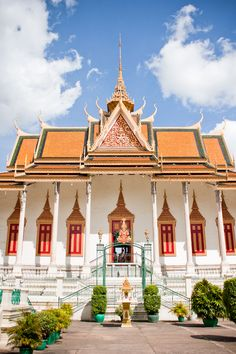 Royal Palace of Phnom Penh  I visited here with my Cambodian Family