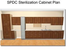 Dentaltown - Sterilization Plan: 20' wall, Ikea cabinets