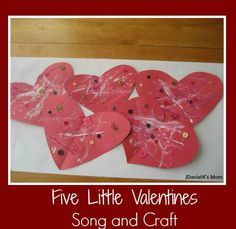 There is something wonderful about receiving one, two, three, four or even five little valentines that might lead you to want to sing a song or do a craft. Valentines Songs For Kids, Valentine Theme, Little Valentine, Valentines Day Activities, Valentines For Kids, Craft Activities For Kids, Valentine Day Crafts, Preschool Crafts, Holiday Crafts