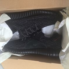 For Sale: Yeezy 350 Boost Pirate Black  for $350
