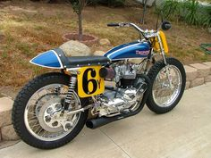 This was my old TT bike when I was a class c junior, fully restored. Indian Motorcycles, Triumph Motorcycles, British Motorcycles, Vintage Motorcycles, Dirt Bike Track, Flat Track Motorcycle, Flat Track Racing, Tracker Motorcycle, Motorcycle Art