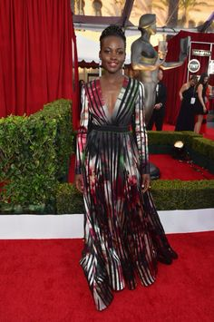 The 21st Annual Screen Actors Guild Awards Best Dressed Lupita Nyongo  More on www.boassy.com
