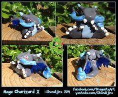 Mega Charizard X by Shendijiro.deviantart.com on @deviantART