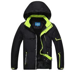 Brand Ski Winter ski Jackets Men Top Quality Outdoor Windproof Waterproof Thicken Camping Hiking Climbing Snow Snowboard Jackets