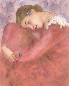Нежность - ты так божественно легка... Акварельные грезы Мария Курбатова(Masha Kurbatova): alionushka1