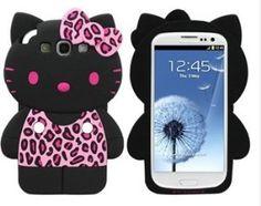 USA Seller Samsung Galaxy S3 III  Anime Phone case Cover Cute hello kitty