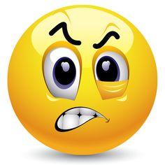 Frustrated Emoticon