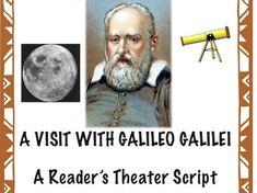"Scientist, astronomer, physicist and mathematician, Galileo is considered the ""father of modern science"". That title was first given to Galileo by ano. Science Resources, Teaching Resources, Teaching Art, Script Reader, Teacher Page, Teaching Channel, Primary Science, Dramatic Play Centers, Readers Theater"