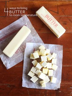 4 Ways to Bring Butter to Room Temperature