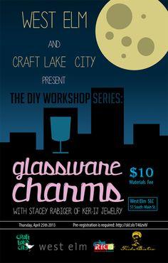 Craft Lake City and West Elm present The DIY Workshop Series | April 2013