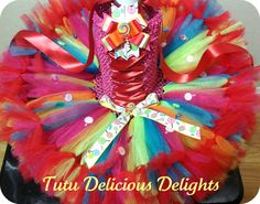 Lollipop Overload Petti Tutu Dress by TutuDeliciousDelight on Etsy, $44.00