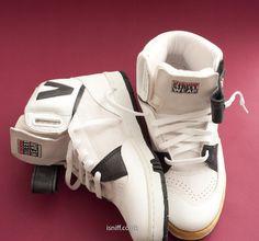 Vision Street Wear, Skate Shoes, Shoe Collection, What I Wore, High Tops, Air Jordans, Kicks, Ninja Art, Black Lights