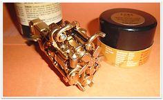 Miniature DM 600 Mack Truck Diesel Engine