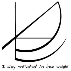 """I stay motivated to lose weight"" sigil requested by anonymous"