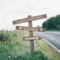 How cute is this wedding signpost? ➡️ #wedding #weddingideas #weddinginspiration #bride #love #marriage
