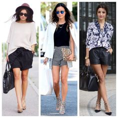 De short, mas com muito estilo! #consultoriadeimagem #personalstylist #inspiracoes #look #fashion #style #aninhamiranda