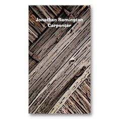 Grunge barn wood construction carpentry business card carpentry carpenter business card flashek