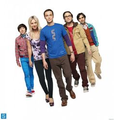 The Big Bang Theory - Season 7 - Cast Promotional Photos.