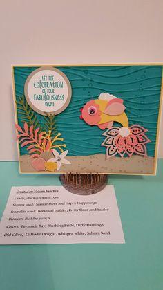Paisley fish card by Valerie Sanchez!