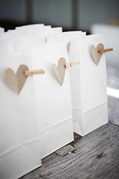 Potential wedding favors