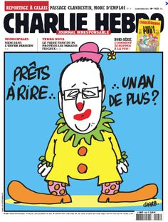Esto pensaba #CharlieHebdo del presidente de Francia y no tenía miedo a decirlo ni nadie se atrevía a la censura