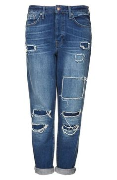 Worn in boyfriend jeans