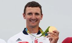 Giles Scott with his gold