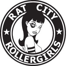 The Rat City Rollergirls (RCRG) is Seattle's premiere all-female, flat-track roller derby league. RCRG is still composed of about 80 active skaters and many more retired skaters who are still involved. The skaters are divided among four home teams: Derby Liberation Front, Grave Danger, Sockit Wenches, and Throttle Rockets. In addition, a small number of skilled, dedicated skaters are chosen to represent the league on its fifth team, the Rat City Rollergirls All Stars.