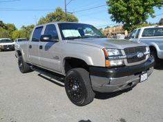 2004 Chevrolet Silverado 2500 HD LS Crew Cab truck for sale under $14000 in Livermore, California CA