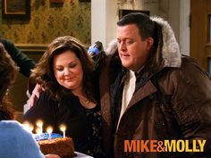 Mike & Molly on cbs. I think Chuck Lorre is a genius.  And I love me some Melissa!