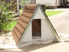 Instructables Doghouse Plan
