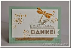 New stamp set and 2 new in colors from a German Stampin' Up gathering.