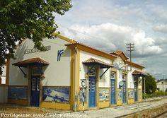 Estação Ferroviária do Vale do Peso - Portugal by Portuguese_eyes, via Flickr