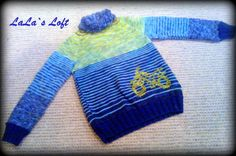 Motorbicke for a cool guy :) Yarn Projects, Inspirational, Pullover, Guys, Cool Stuff, Knitting, Crochet, Sweaters, How To Make