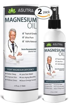 2 Bottle Value Pack - Pure Zechstein Magnesium Oil Spray - Triple Filtered fo... | Health & Beauty, Vitamins & Dietary Supplements, Vitamins & Minerals | eBay!
