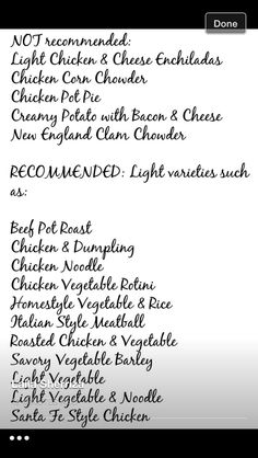 Progresso Soup Thm Tweekly Meal