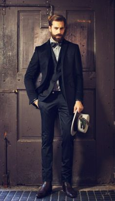 #bowtie #cool #handsome #stylish #suit #style #fashion #fashinable #elegance #стиль #мода #menfashion #colours #accessories