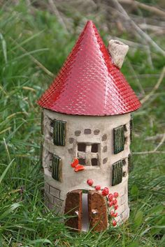 Deko Turm - Hobbies paining body for kids and adult Hobbies And Interests, Types Of Yarn, Woodland Party, Air Dry Clay, Fairy Houses, Book Of Shadows, Little Houses, Garden Art, Decorative Items