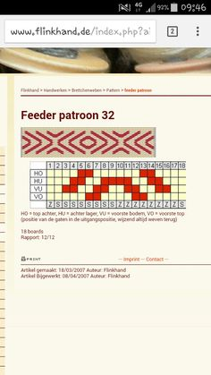 Feeder patroon 32