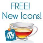 Free social media TEA icons