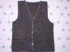 free crochet vest patterns | Crochet Instructions for Ladies' Vests | eHow.com