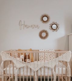 Gold Nursery Decor, Bohemian Nursery, Nursery Neutral, Nursery Name, Nursery Signs, Girl Nursery, Name Above Crib, Nursery Inspiration, Nursery Ideas